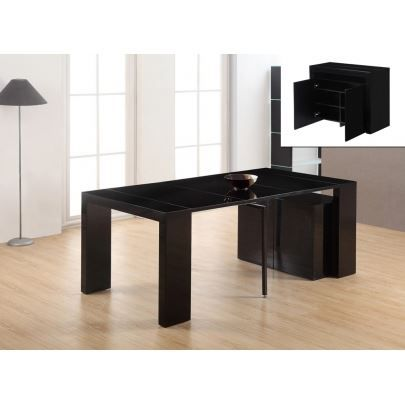 console buffet extensible strat ge 3 rallonge achat vente console extensible console. Black Bedroom Furniture Sets. Home Design Ideas