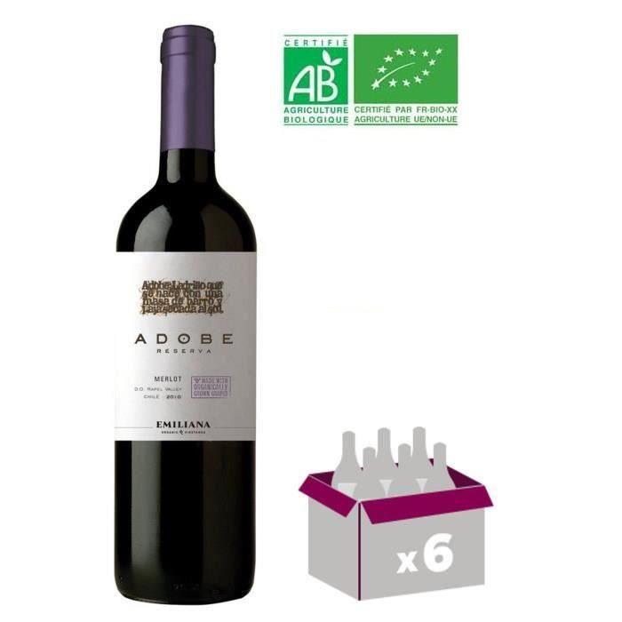 Adobe 2015 Merlot - Vin Chilien - Bio