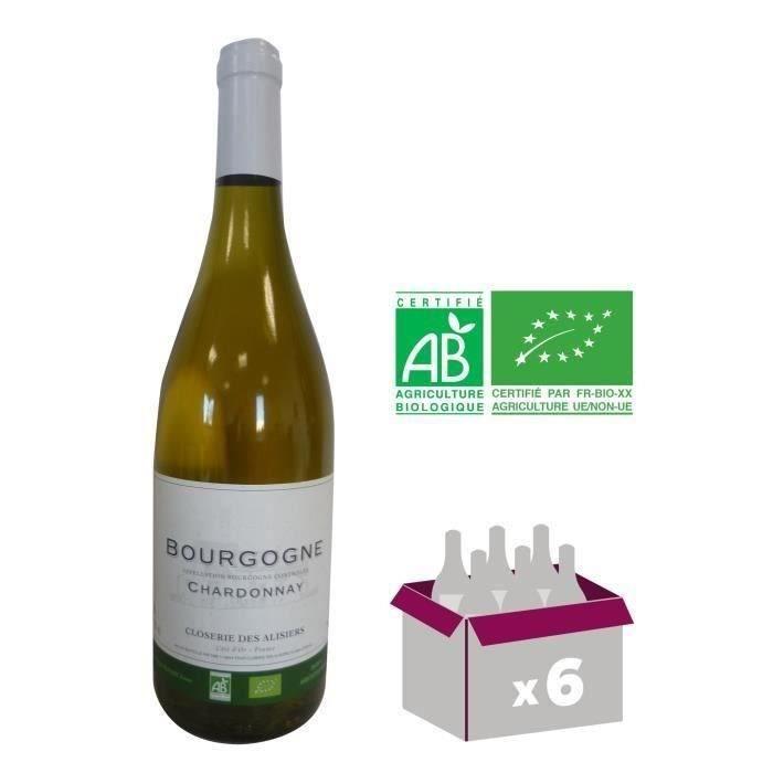 Closerie des Alisiers 2018 Bourgogne Chardonnay - Vin blan de Bourgogne - Bio
