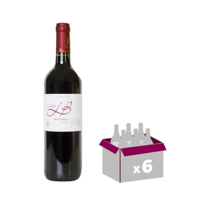 Château La Brie 2015 Bergerac - Vin rouge du Sud-Ouest