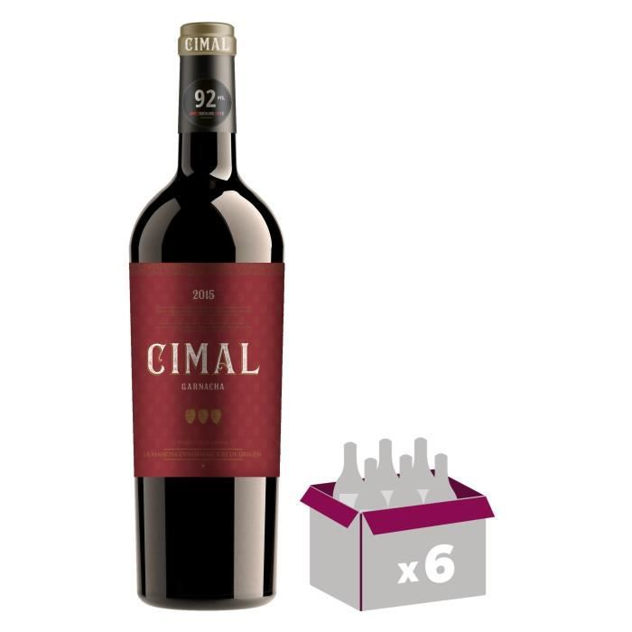 BODEGA ALCENO 2015 Cimal Garnacha Mancha - Vin Rouge - 6x 75 cl