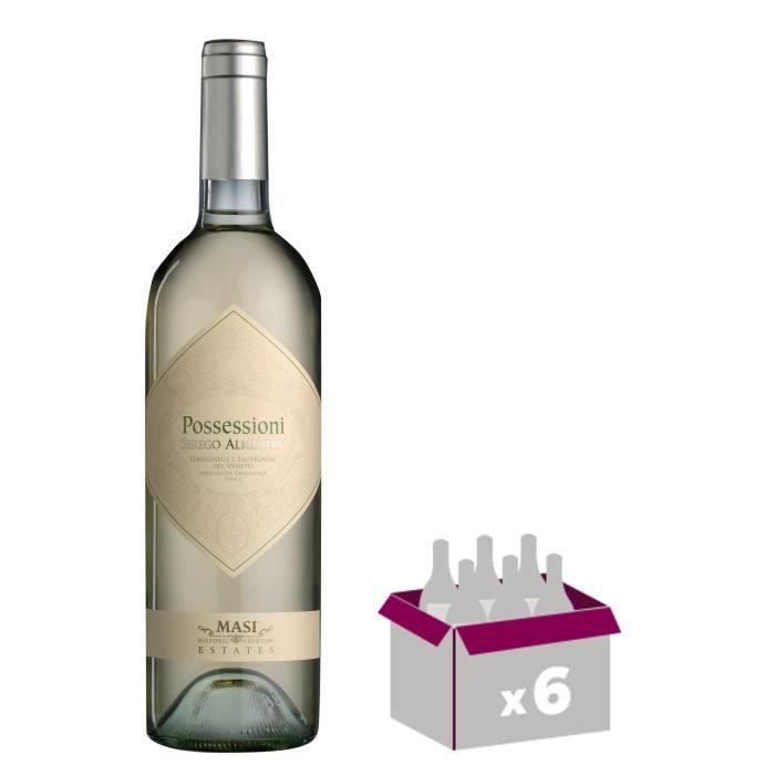POSSESSIONI BIANCO 2015 Veneto Vin d'Italie - Blanc - 75 cl - IGP x 6