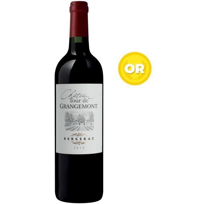 Château Tour de Grangemont 2016 Bergerac - Vin rouge du Sud Ouest