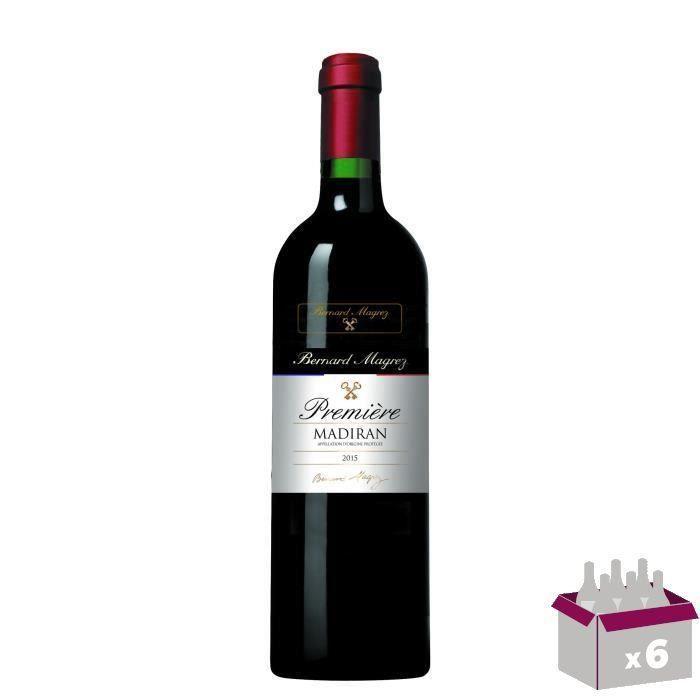 BERNARD MAGREZ Première Madiran 2015 - Vin rouge du Sud-Ouest