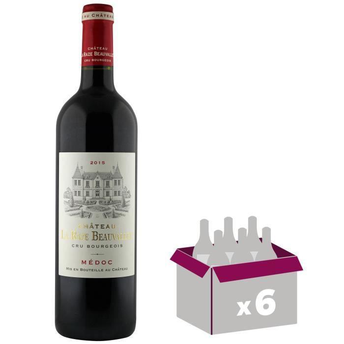 Château La Raze Beauvallet 2015 Médoc Cru Bourgeois - Vin rouge de Bordeaux