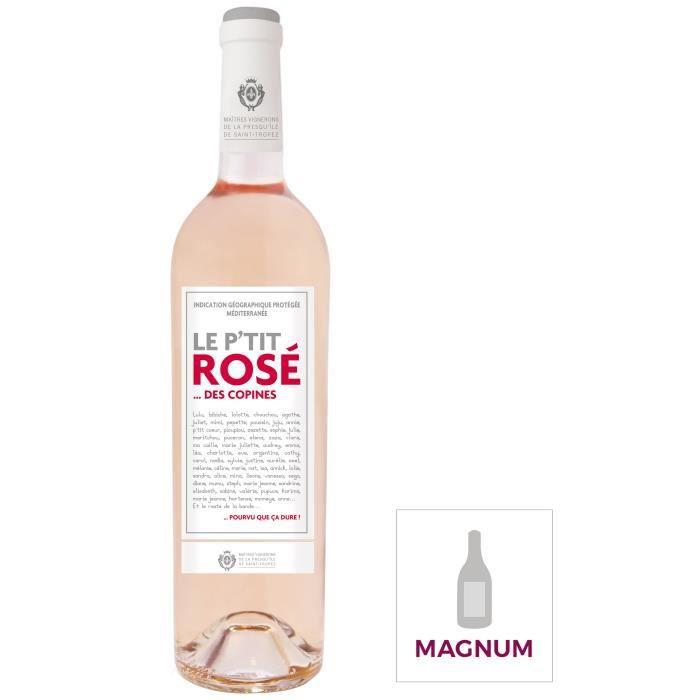Magnum Le P'tit Rosé des Copines IGP Méditerranée - Vin rosé