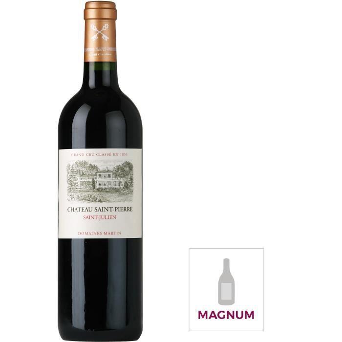 Magnum Château Saint Pierre 2015 Saint Julien - Vin rouge de Bordeaux