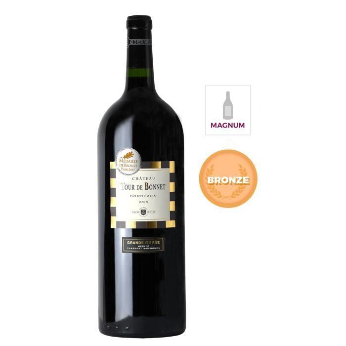 Magnum Château Tour de Bonnet Grande Cuvée 2015 Bordeaux - Vin Rouge x1