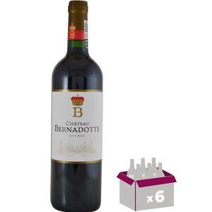 VIN ROUGE Château Bernadotte 2015 Haut-Médoc - Vin rouge de