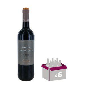 VIN ROUGE DOMAINE DE CAUSSAGUES 2015 Corbères - Vin de Langu