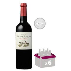 VIN ROUGE Château Moulin Eyquem 2015 Côtes de Bourg  - Vin r