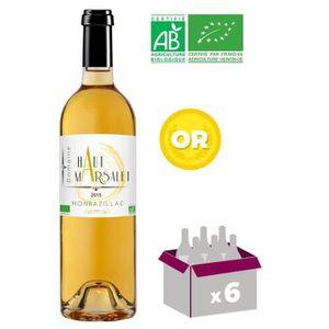 VIN BLANC Domaine Haut Marsalet 2015 Monbazillac - Vin blanc