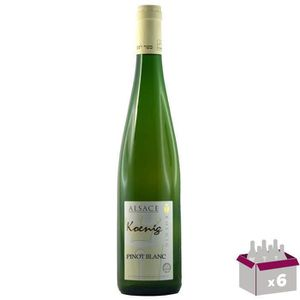 VIN BLANC KOENIG Pinot Blanc Grand Vin d'Alsace Casher - Bla