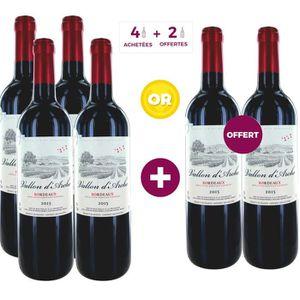 VIN ROUGE Vallon d'Arche 2015 Bordeaux - Vin Rouge - 75 cl