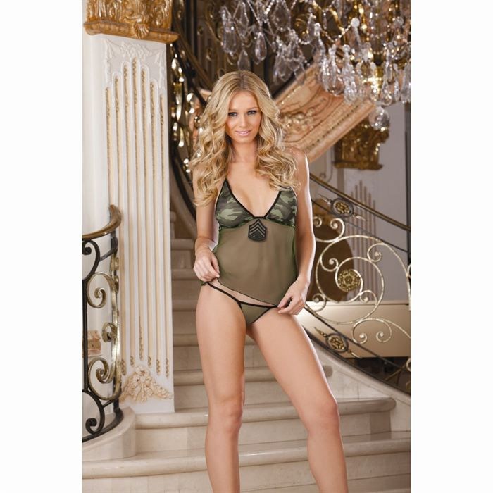 DEGUISEMENT SEXY  DREAMGIRL Costume Militaire Femme