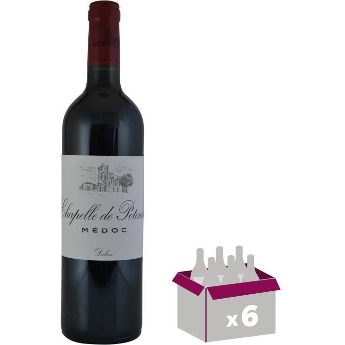 VIN ROUGE Chapelle de Potensac 2015 Médoc - Vin rouge de Bor