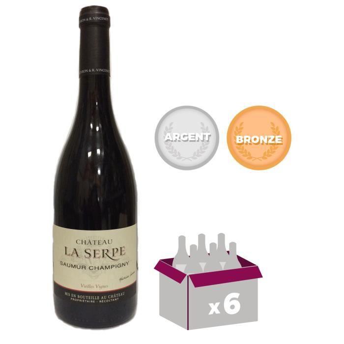 VIN ROUGE Château La Serpe 2015 Saumur Champigny - Vin rouge
