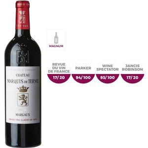 VIN ROUGE MAGNUM Château Marquis de Terme 2015 Margaux - Vin