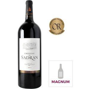 VIN ROUGE Magnum Château de Sadran 2015 Cadillac Côtes de Bo
