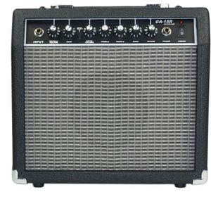 AMPLIFICATEUR Ampli guitare 15 watts reverb noir et gris