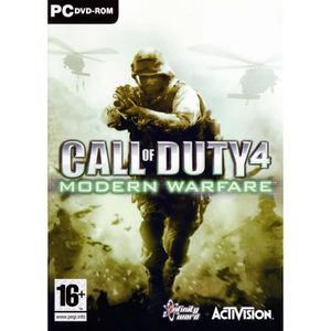JEUX PC CALL OF DUTY 4 MODERN WARFARE / Jeu PC
