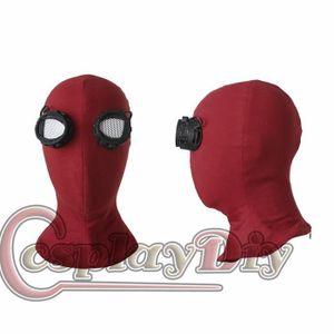 MASQUE - DÉCOR VISAGE Déguisement Masque Rouge SpiderMan Homecoming Homm