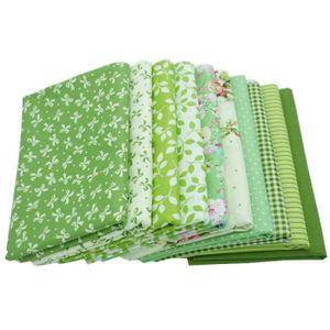 TISSU 10pcs / lot 40x50cm a imprimé le tissu de coton, t