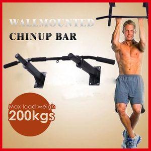 180 KG Charge Max Exercice Abdominale Fitness Sit Up Bar R/églable Pull Up Bars GREFIC Barre de Tractions Abdos Musculation Kit Sport Maison Materiel Appareil Mural Barre de Musculation