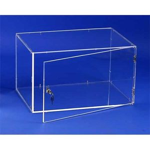 Vitrine achat vente vitrine pas cher cdiscount page 6 for Meuble qui ferme a clef