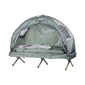 TENTE DE CAMPING Tente surélevée avec lit de camping