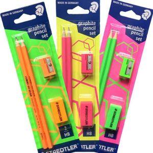 CRAYON GRAPHITE Kit vertSTEADTLER comprenant 2 crayons HB ultra r