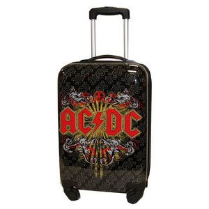 VALISE - BAGAGE Valise Cabine - Taille 55 cm - ACDC - incassable e