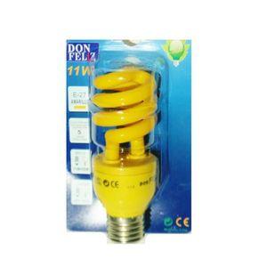AMPOULE - LED Ampoule spirale jaune E27 basse consommation