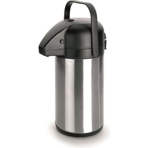 POMPE À BOISSON THERMO VERSEUR AIR POT INOX 18/10 - 2,20 L - H 35