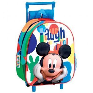 CARTABLE Sac à dos à roulettes maternelle Mickey Smile 28 C