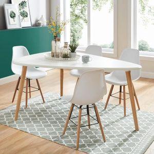 TABLE À MANGER SEULE BENEDIKT Table à manger triangulaire 6 à 8 personn