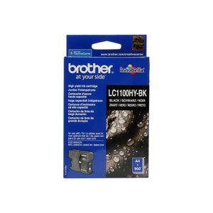 CARTOUCHE IMPRIMANTE Brother LC1100HYBK À rendement élevé noir original