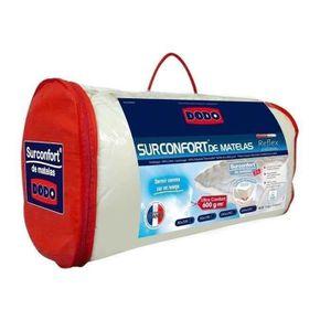 SUR-MATELAS DODO Surmatelas 160 x 200 - Polyester Confortlof -