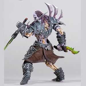 FIGURINE - PERSONNAGE World Of Warcraft Figurine Undead Rogue Skeeve Sor