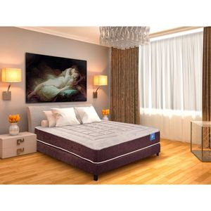 lit sommier et matelas memoire de forme 160x200 achat. Black Bedroom Furniture Sets. Home Design Ideas