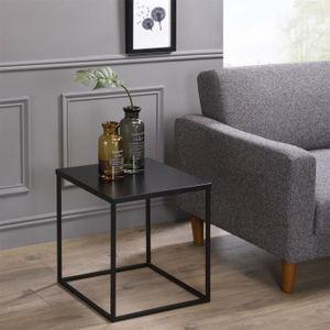 TABLE D'APPOINT Table d'appoint HILAR table à café petite table ba
