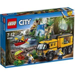 ASSEMBLAGE CONSTRUCTION LEGO® City 60160 Le Laboratoire de la Jungle