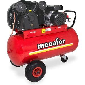 COMPRESSEUR Compresseur 100 l Mecafer - 3 HP