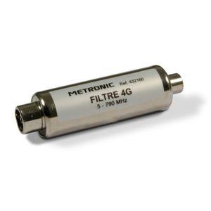 RÉGLAGE ANTENNE METRONIC 432160 Filtre 4G