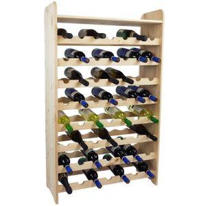 MEUBLE RANGE BOUTEILLE Étagère à bouteilles de vin BACCHUS XL 72 x 25 x 1