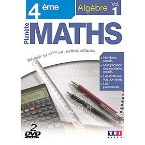 DVD DOCUMENTAIRE DVD Planete maths : 4eme algebre