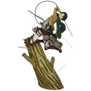 ROBOT - ANIMAL ANIMÉ Attack on Titan Figurine rivaille 28CM