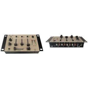TABLE DE MIXAGE Table de mixage stereo a 3 canaux 2 entrees microp