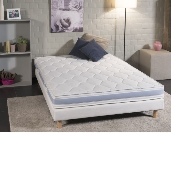 deko dream matelas cool 90x190 cm m moire de forme. Black Bedroom Furniture Sets. Home Design Ideas