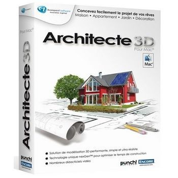 architecte 3d 2011 mac prix pas cher soldes cdiscount. Black Bedroom Furniture Sets. Home Design Ideas